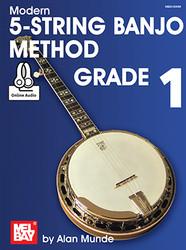 Modern 5-String Banjo Method Grade 1 (Book + Online Audio)