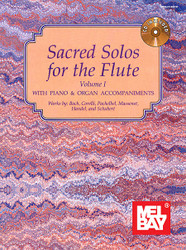 Sacred Solos For The Flute Volume 1 Book/Cd Set