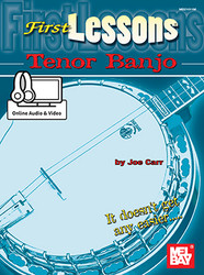 First Lessons Tenor Banjo  Book/Online Audio Set