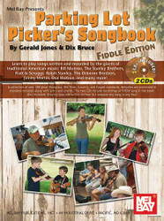 Parking Lot Picker's Songbook - Fiddle Edition Book/2-Cd Set