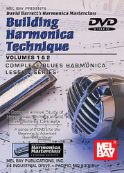 Building Harmonica Technique Volume 1 & 2 Dvd Taught By David Barrett - Blues - Harmonica Masterclass Lesson - Harmonica (Diatonic)