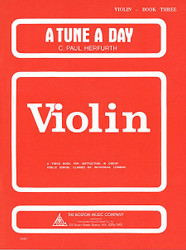 A Tune A Day - Violin, Book 3