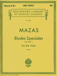 Etudes Speciales, Op. 36 - Book 1, Viola Method