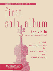 First Solo Album For Violin, In Elementary First Position