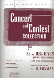 Concert And Contest Collection, E-Flat Or Bb-Flat Bass (Tuba) - Piano Accompaniment, Eb Or Bbb Bass (Tuba) - Piano Part