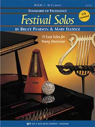 Standard Of Excellence:Festival Solos Bk 2, Clarinet
