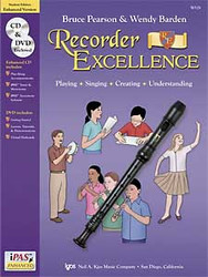 Recorder Excellence - Student Book (W/ Cd / Dvd / Ipas)