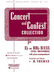 Concert And Contest Collection, E-Flat Or Bb-Flat Bass (Tuba) - Solo Part, Eb Or Bbb Bass (Tuba) - Solo Part