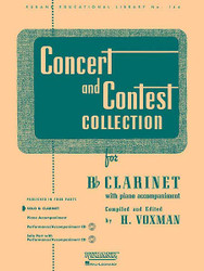 Concert And Contest Collection, Bb Clarinet - Solo Part, Solo Part