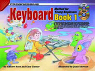 Progressive Keyboard Method For Young Beginners: Book 1 Gary Turner; Illustrated By James Stewart. - Book/Dvd/Cd