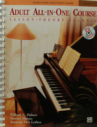 Alfred's Basic Adult All-In-One Course, Book 1 Lesson * Theory * Technic 1