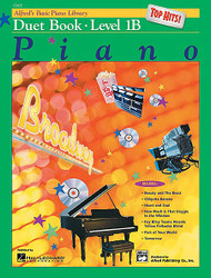 Alfred's Basic Piano Course: Top Hits! Duet Book 1B