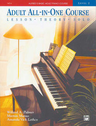 Alfred's Basic Adult All-In-One Course, Book 2 Lesson * Theory * Solo