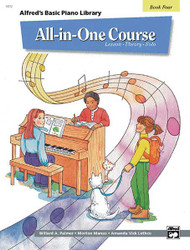 Alfred's Basic All-In-One Course, Book 4 Lesson * Theory * Solo