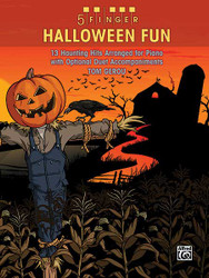 5 Finger Halloween Fun 13 Haunting Hits Arranged For Piano With Optional Duet Accompaniments