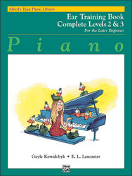 Alfred's Basic Piano Course: Ear Training Book Complete 2 & 3
