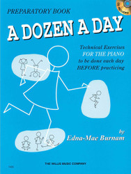 A Dozen A Day Preparatory Book - Book/Cd Pack, Preparatory Book With Cd