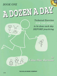 A Dozen A Day Book 1 - Book/Cd Pack, Book 1 With Cd
