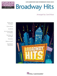 Broadway Hits, Hal Leonard Student Piano Library Popular Songs Series, Level 4/5