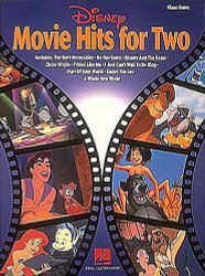 Disney Movie Hits For Two, Lower-Intermediate Level Piano Duets