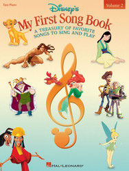 Disney's My First Songbook - Volume 2, A Treasury Of Favorite Songs To Sing And Play, Easy Piano