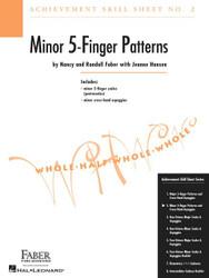 Achievement Skill Sheet No. 2: Minor 5-Finger Patterns