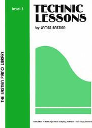 Bastien Piano Library Technic Lessons Level 3