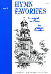 Bastien Piano Library Hymn Favorites Level 2