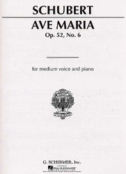 Ave Maria, Medium Voice In A-Flat, Medium Voice In A-Flat