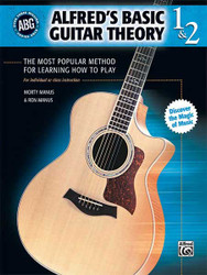 Alfred's Basic Guitar Theory, Books 1 & 2 The Most Popular Method For Learning How To Play