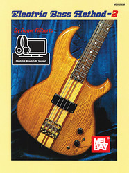 Electric Bass Method Volume 2 (Book + Online Audio/Video)