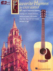 Favorite Hymns For Easy Guitar, Easy Guitar With Notes & Tab