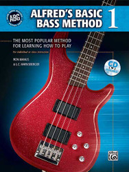 Alfred's Basic Bass Method, Book 1 The Most Popular Method For Learning How To Play 1