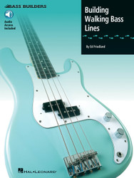Building Walking Bass Lines, Book/Cd Pack