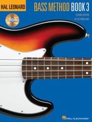 Hal Leonard Bass Method Book 3 - 2Nd Edition, Book/Cd Pack
