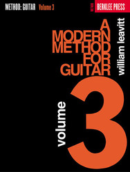 A Modern Method For Guitar - Volume 3, Book