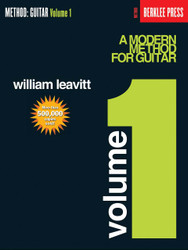 A Modern Method For Guitar - Volume 1, Guitar Technique, Book