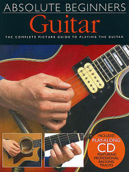 Absolute Beginners - Guitar, Book/Cd Pack