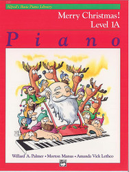 Alfred's Basic Piano Course: Merry Christmas! Book 1A