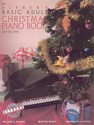 Alfred's Basic Adult Piano Course: Christmas Piano Book 1