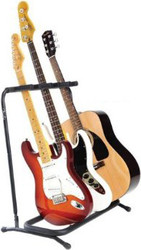 Fender Multi Folding Guitar Stand for 3 instruments
