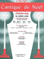 Cantique De Noel (O Holy Night), Medium High Voice (D-Flat) And Piano, Medium High Voice (D-Flat) And Piano