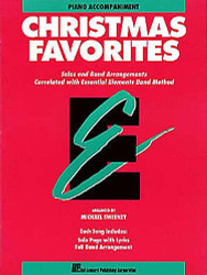 Essential Elements Christmas Favorites, Piano Accompaniment