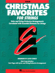 Essential Elements Christmas Favorites For Strings, Violin Book (Parts 1/2), Violin
