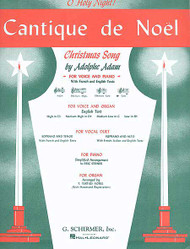 Cantique De Noel (O Holy Night), Low Voice (B-Flat) And Piano, Low (B Flat) And Piano