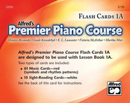 Premier Piano Course: Flash Cards, Level 1A