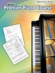 Premier Piano Course: Assignment Book