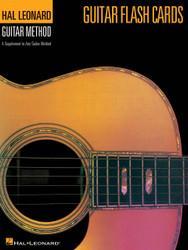 Guitar Flash Cards, Hal Leonard Guitar Method