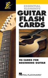 Essential Elements Guitar Flash Cards, 96 Cards For Beginning Guitar, Flash Cards