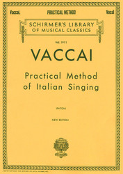Practical Method Of Italian Singing, High Soprano